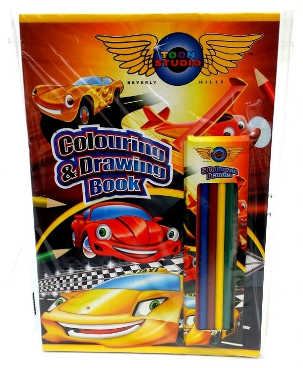 CARS Disney kleurboek kleurpotlood knutselen