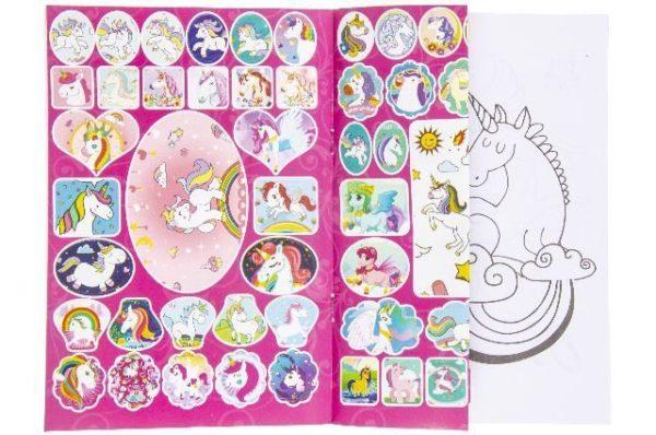 eenhoorn kleurboek uitdeelspeelgoed