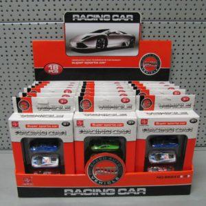 Racewagens jongens uitdeelspeelgoed