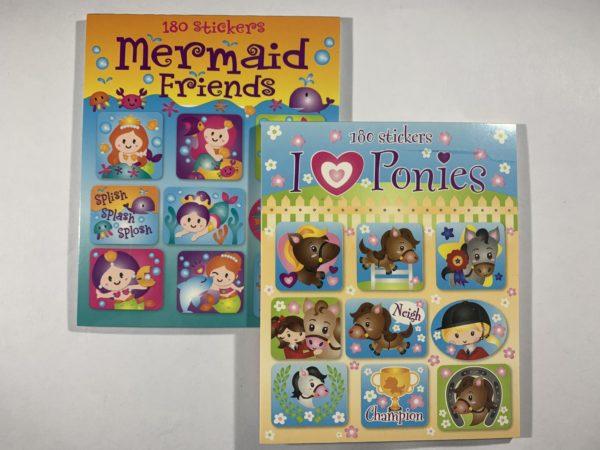 Stickerboekje_pony_mermaid